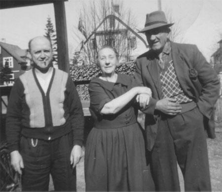 Eivind, Inga og Einar