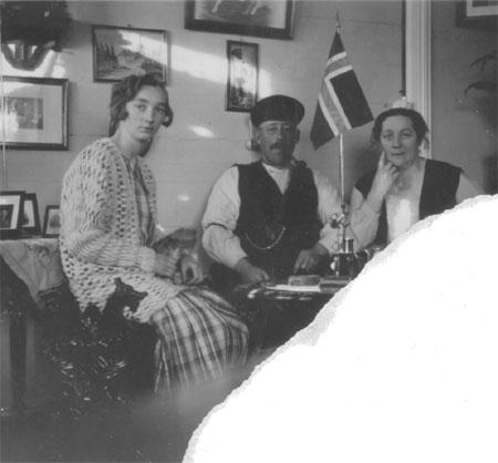 Johanna og hennes foreldre